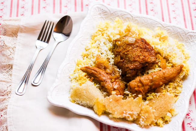 Chicken and Rice (Morgh Polo)-5