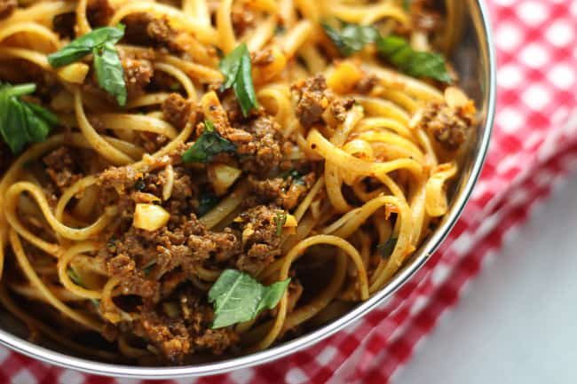 Savory and Simple Parmesan Beef Pasta
