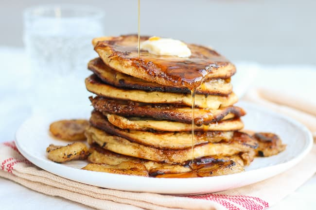 How To Make Really Good Banana And Brown Sugar Pancakes