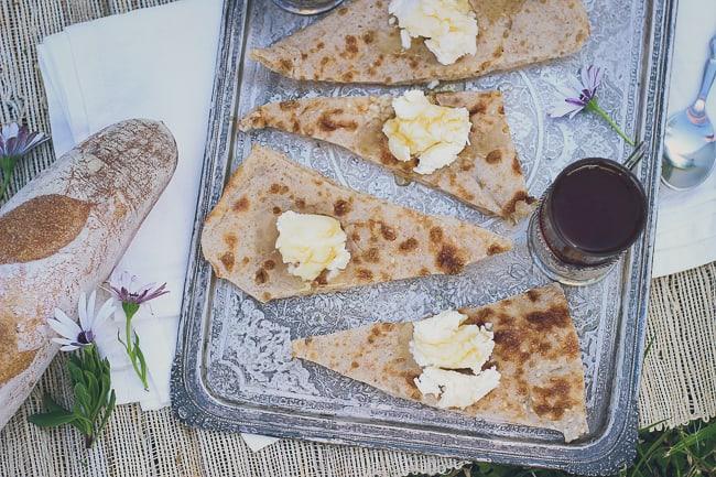 Fresh Cream with Bread & Honey-19