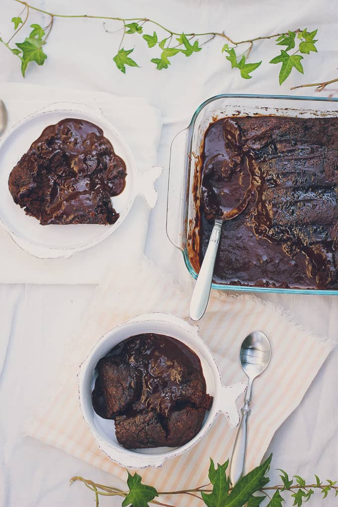 chocolate pudding cake-8