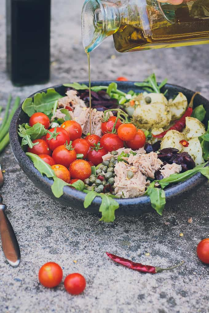 mediterranean tuna and potato summer salad-23